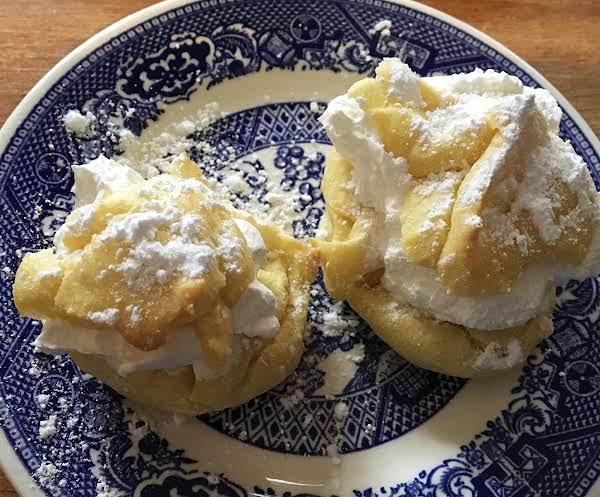 ~ Creamed Cream Puffs ~
