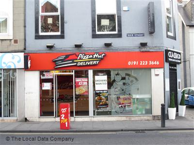 Pizza Hut Delivery On High Street Pizza Takeaway In