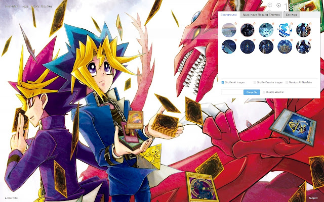 Yu-Gi-Oh! HD Wallpapers New Tab