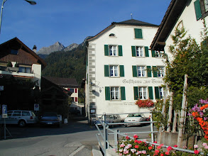 Photo: Unser Gasthaus in Malans