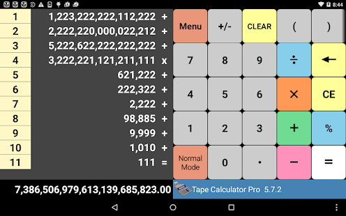 Tape Calculator Pro- screenshot thumbnail