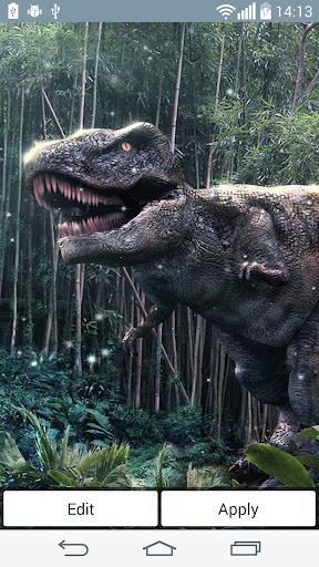 恐竜はライブ壁紙