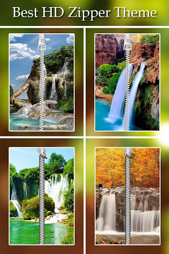 Waterfall Zipper Lock