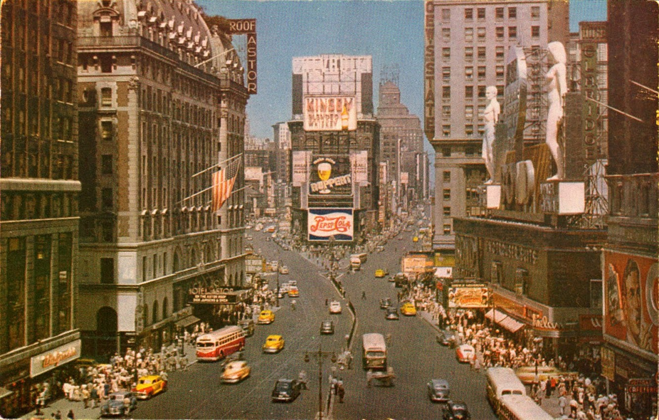 Times Square 1950s