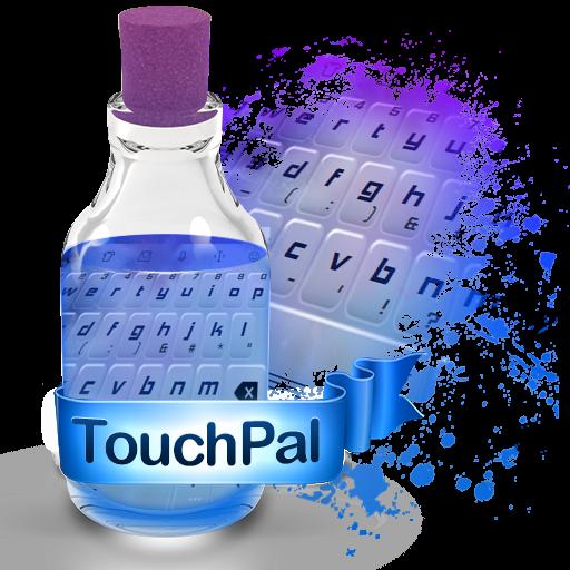 蓝色元素 TouchPal 個人化 App LOGO-硬是要APP