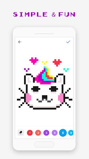 Pixel Art - jeu de coloriage  captures d'écran 4