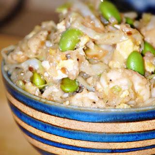 Chicken Edamame Rice Bowls.