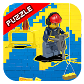 Sliding Puzzle Lego City