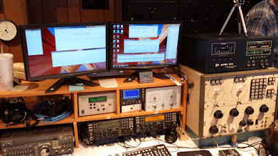 Photo: Elecraft K3 and Alpha 87A amp