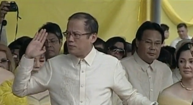 Noynoy Aquino inauguration