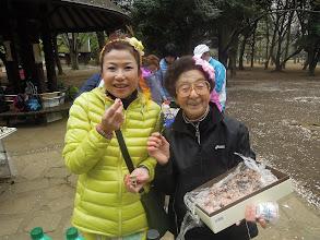 Photo: サッキーの特製お赤飯は絶品!美味しいよ~!! レレ&サッキー