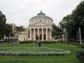 Photo: Rou3S107-151001Bucarest, place Révolution, l'athénée ou la philarmonique, salle de concerts IMG_8592