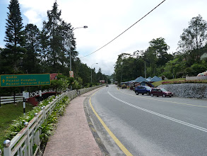 Photo: Tanah Rata, Cameron Highlands - road to hospital where trail 9 begins