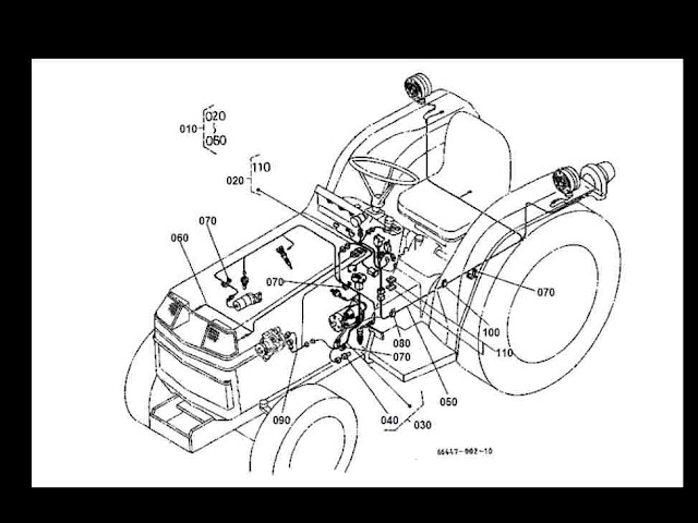 Kub1550pdf2 kubota b 1550 b1550 e d hste tractor parts manuals b155 for sale kubota l4310 wiring diagram at gsmx.co
