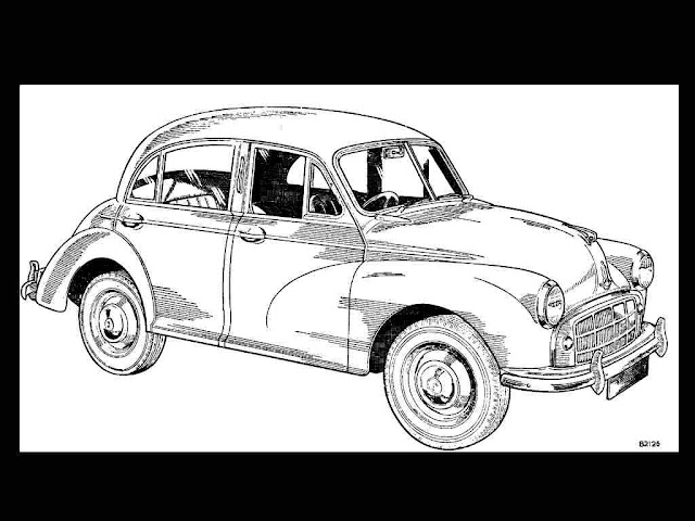MORRIS MINOR SERIES 2 MM 1000 WORKSHOP & PARTS MANUALs for