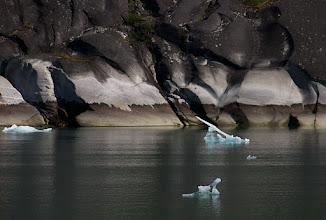 Photo: Glaciated Granite Rocks in Tracy Arm