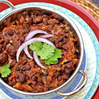 Vegetarian Black Bean Indian Recipes.
