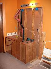 Photo: Bathroom Remodel in Progress