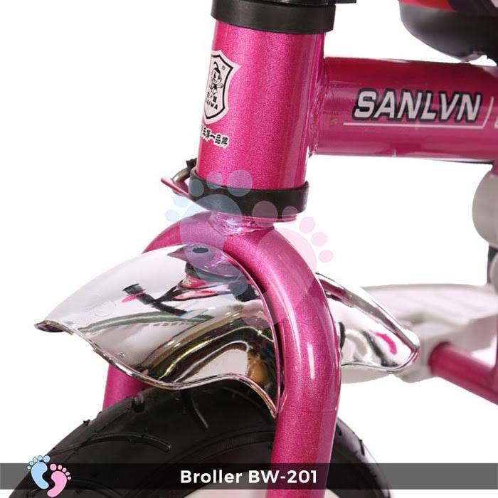 Xe đạp đẩy 3 bánh Broller XD3-201 11