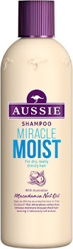 Aussie Miracle Moist Shampoo For Dry Really Thirsty Hair - 300ml
