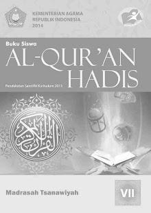 Download Buku Siswa Kelas 7 MTs Al-Qur'an Hadis Revisi 2014 For PC Windows and Mac apk screenshot 1
