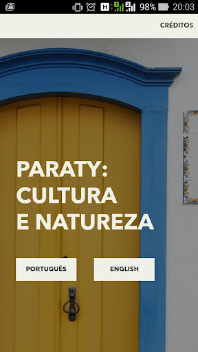 Paraty: Cultura e Natureza