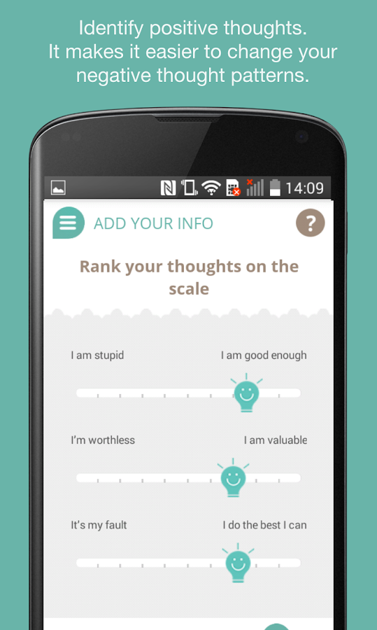 Mindfit - a mini-psychologist in your pocket- screenshot