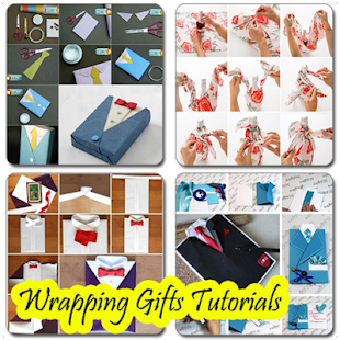 Wrapping Gifts Tutorials - náhled