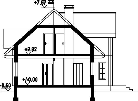 Brzoza dw-0k - Przekrój
