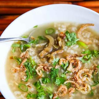 Turkey Brown Rice Congee Recipe