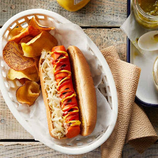 BBQ Carrot Dogs.