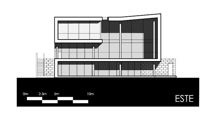 Casa hacia el río - Najas Arquitectos