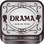Drama - Salon, Spa & Tattoo Icon