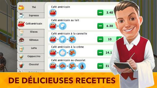 Mon café : recettes et histoires - Jeu Restaurant  captures d'écran 2