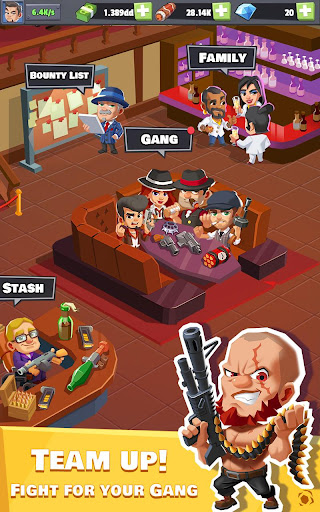 Idle Mafia - Tycoon Manager apkmr screenshots 1