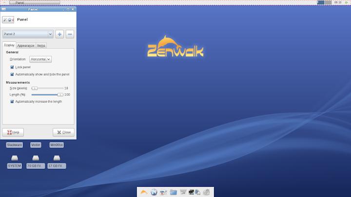 Zenwalk Panel 7.0
