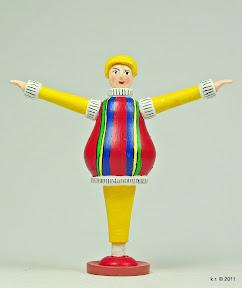 Figurine, 1916 - farbig angelegt