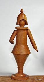 Figurine, 1920 - naturbelassen