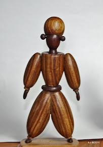 Figurine maurisch, 1926 - naturbelassen