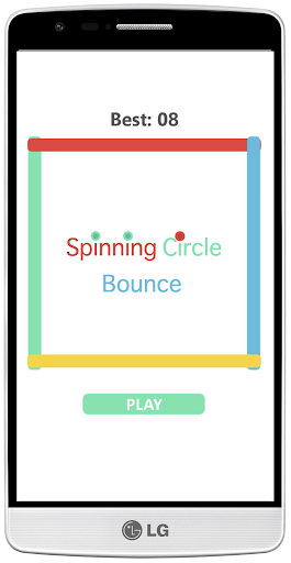 Spinning Circle Bounce
