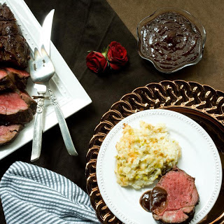 Roasted Beef Tenderloin with Henry Bain Sauce