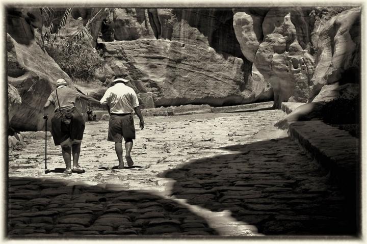 Leaving Petra di cicciociccio