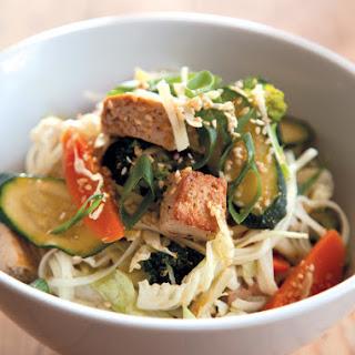 Vegetable + Tofu Stir-Fry.
