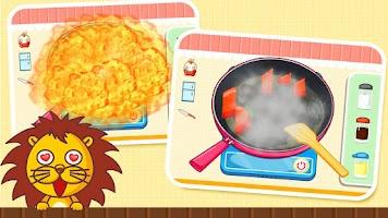 Screenshot of My Baby Panda Chef