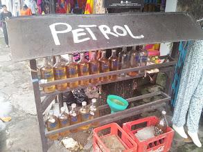 Photo: bali petrol station