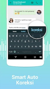 Kika Keyboard – Emoji, GIF- gambar mini screenshot