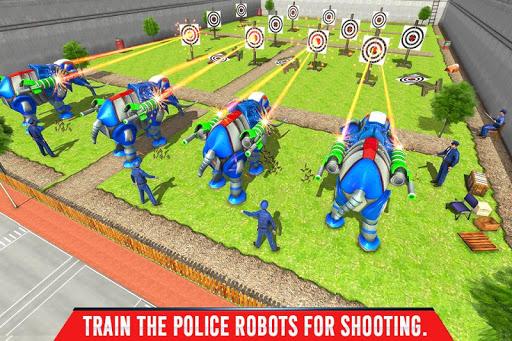 Police Elephant Robot Game: Police Transport Games 1.0.1 5