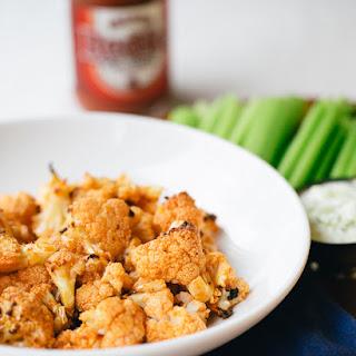 Buffalo Cauliflower with Blue Cheese Dip Recipe