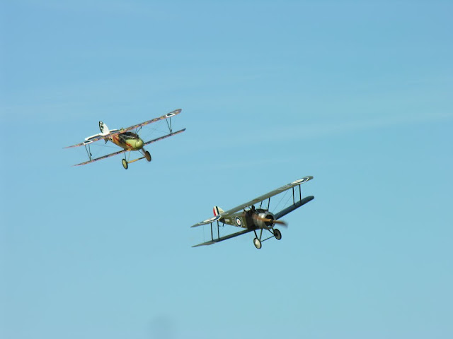 Omaka Airshow 2011 New Zealand WW1 aircraft - Free subject - Rise of