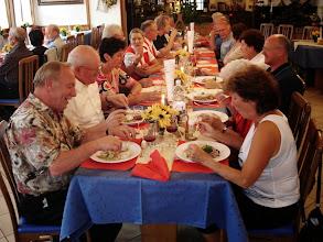 Photo: Gemeinsames Nachtessen im Hotel Walliserhof